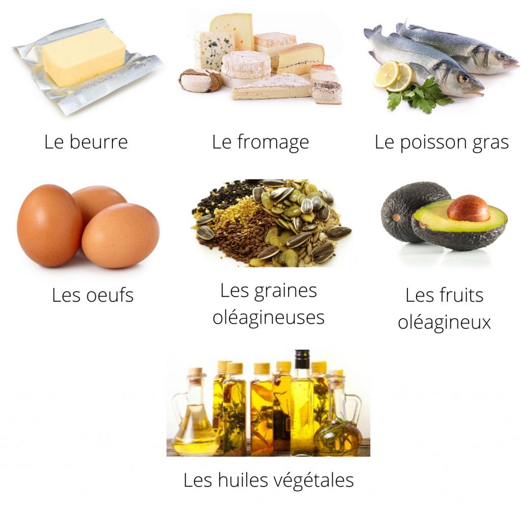 beurre_fromage_huiles_œufs_oléagineux_poissons